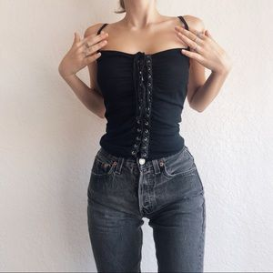 Vintage Dolce And Gabbana Corseted Top